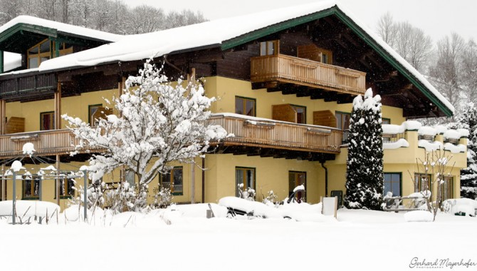 Sportpension Goldegg im Winter